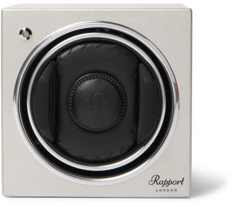 evo Rapport London Cube t8 Lacquered-Wood Automatic Watch Winder