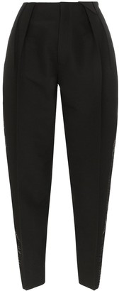 Bottega Veneta Pleated Tapered Trousers