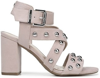 Sam Edelman Ophelia Block Heel Studded Sandals