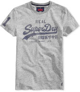 Superdry Men's Vintage Graphic-Print Logo T-Shirt