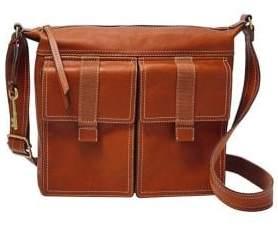 Fossil Cargo Leather Crossbody Bag