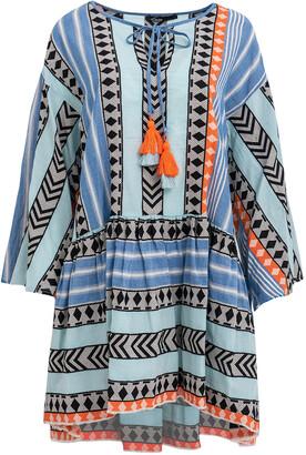 Devotion Short Zakar Ioanna Dress Blue/ Orange - S