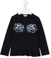 Kenzo double tiger top