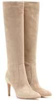 Gianvito Rossi Dana Suede Knee-high Boots