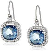 Suzanne Kalan Kalan by 14k Gold Blue Topaz Drop Earrings