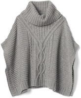Gap Cable knit sweater poncho