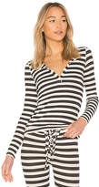 Stateside Striped Thermal Top