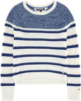 Tommy Hilfiger Short sweater with stripes