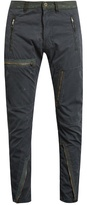 Longjourney Flight distressed cotton-twill trousers
