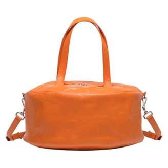 Balenciaga Air Hobo Orange Leather Handbags