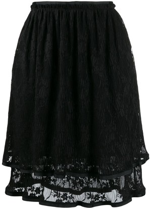 See by Chloe Double Layer Skirt