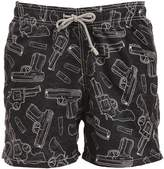 MC2 Saint Barth Gustavia Geweer Micro Fiber Swim Shorts