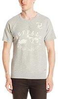 Buffalo David Bitton Men's Fareky Short Sleeve Fashion Sweatshirt