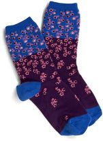 Vera Bradley Ditsy Floral Color Block Socks