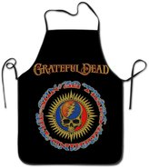 KAXUXUYO Adjustable Cook Apron Printed Chef Apron