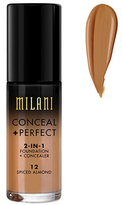 Milani Conceal And Perfect 2 In 1 Foundation And Concealer - Spiced Almond