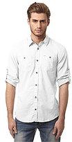 Buffalo David Bitton Sierra Long-Sleeve Solid Shirt