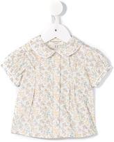 Cashmirino - Floral puff sleeve top - kids - Cotton - 3 mth