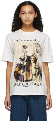 Alexander McQueen White Trompe LOeil T-Shirt