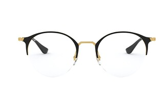 Ray-Ban RB3578V Round Semi-Rimless Glasses