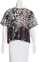 Preen Wool Printed Top
