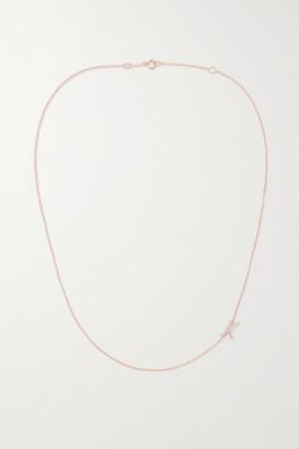 Anita Ko 18-karat Rose Gold Diamond Necklace - A