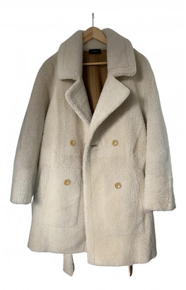 Joseph White Wool Coats