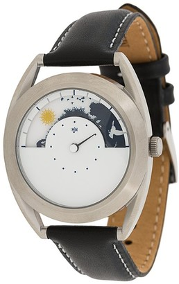 Mr Jones Sun and Moon 38mm watch