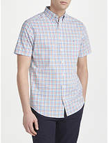 Gant Gant Oxford Short Sleeve Gingham Shirt