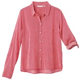 Tom Tailor Long-Sleeved Striped Cotton Shirt