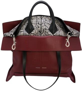 Proenza Schouler large Elaphe PS19 tote bag