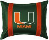 Miami Hurricanes Standard Pillow Sham
