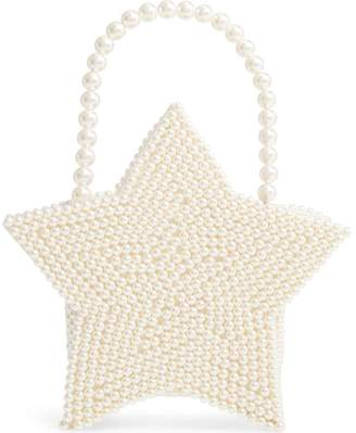 Halogen x Atlantic-Pacific Star Pearl Handbag