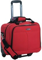 Delsey luggage, air flite rolling laptop business case
