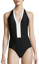Michael Kors Half Moon Bay One-Piece Swimsuit