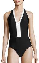 MICHAEL Michael Kors Half Moon Bay One-Piece Swimsuit