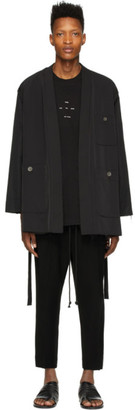Song For The Mute Black Kimono Jacket
