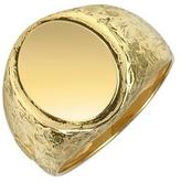 Torrini Oval 18K Yellow Gold Men's Ring