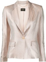 Liu Jo metallic fitted blazer