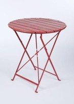 The Well Appointed House Farmhouse Caf Table in Red