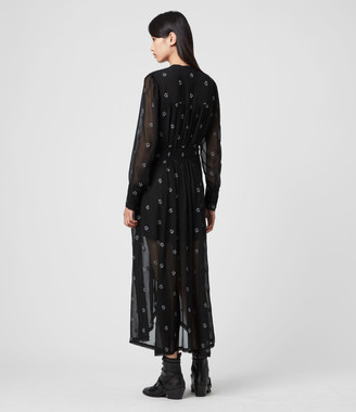 AllSaints Liza Cyla Dress