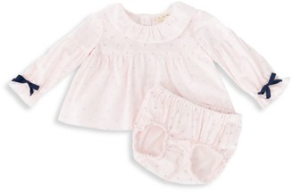 Leah And Rae Baby's & Little Girl's 2-Piece Smock Top & Bloomer Set