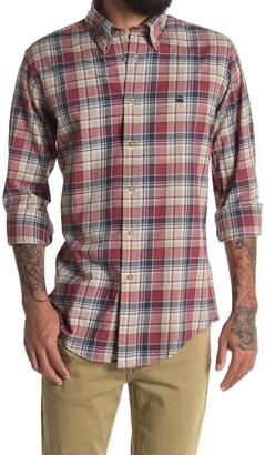 Brooks Brothers Plaid Print Flannel Regular Fit Shirt