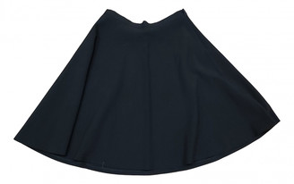 Benetton Blue Polyester Skirts