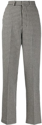 AMI Paris Houndstooth Tailored Trousers