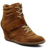 Addict-Initial Women's Alida Wedge Heel Ankle Boots In Brown - Size Uk 6.5 / Eu