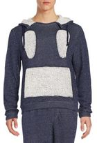 Mostly Heard Rarely Seen Dotted Knit Hoodie Sweatshirt