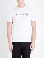 Armani Jeans 1981 cotton-jersey t-shirt
