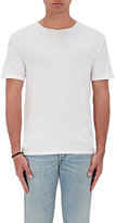 Vince Men's Raw-Edge Cotton Crewneck T-Shirt-IVORY