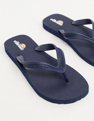 Ellesse thongs in navy